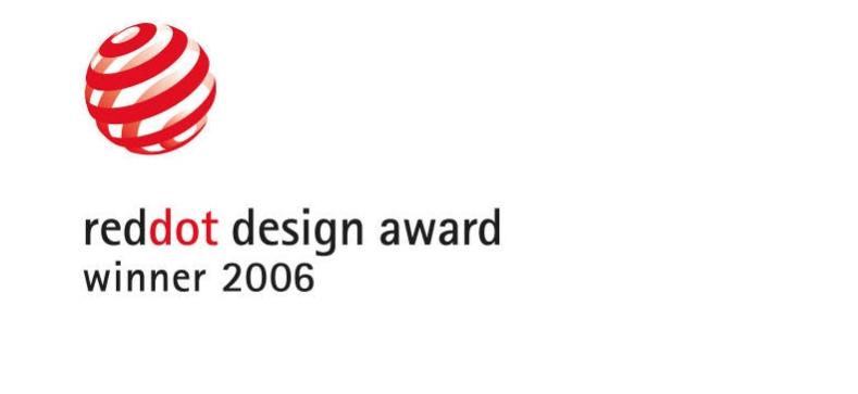 red dot design award winner 2006